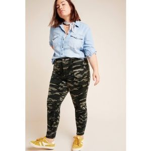 Anthropologie Pilcro High-Rise Skinny Cord Pants